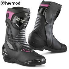 TCX SP-Master Lady Waterproof Ladies Motorcycle Boots - Black/Pink