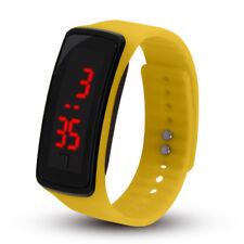 Digital LED Wrist Sport Watch For Men Women Boys Girls Kids Birthday Gift UK SUN
