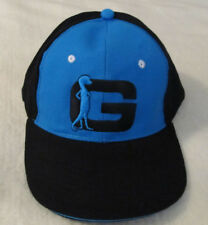 Geico Hat Cap Black & Blue Embroidered Gecko Big G New Ty Dillon Germain Racing
