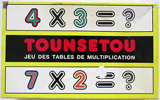 Jeu des Tables de multiplication Tounsetou / Par M. Dotsabide / Cedep