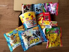 Pokemon Box, Japanese Snack, Candy, Ramen Assortment