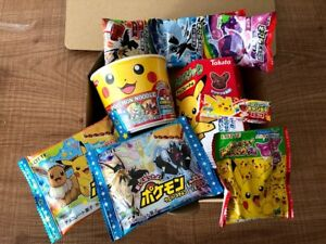 Pokemon Box, Japanese Snack, Candy, Ramen Assortment