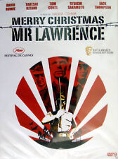 Merry Christmas Mr. Lawrence (1983) DVD R0 - David Bowie, Tom Conte, Cult Drama