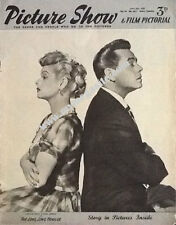 LUCILLE BALL & DESI ARNAZ -  PICTURE SHOW -  JUNE 1954