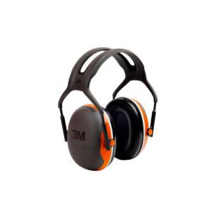 3M Peltor X4 Earmuffs, Over-the-Head, NRR 27 dB, Forestry Orange #X4A-OR