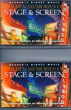 Golden Memories Of Stage & Screen (2 Tapes #1,#4) Used Cassette (Readers Digest)