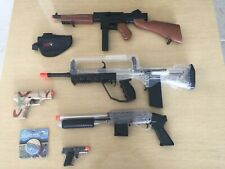 """New listing Lot of 5 Spring Loaded Airsoft Guns 5""""-30"""". All work well."""