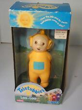 NEW NEVER USED Teletubbies NIB plastic Laa-Laa doll by Playskool, 1998 AGES 1.5+