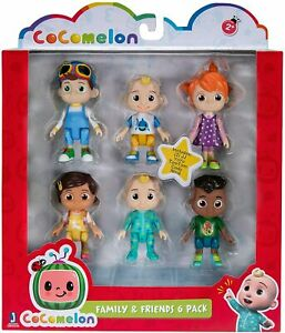 CoComelon Family and Friends 6 Figure Pack  *BRAND NEW*