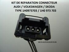 KIT REPARATION CONNECTEUR PRISE AUDI VW SEAT SKODA 1H0 973 703 1H0973703 NEUF