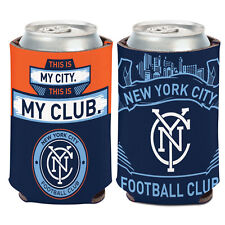 New York City FC Can Cooler 12 oz. MLS Koozie