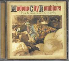 """MODENA CITY RAMBLERS - RARO CD """" VIVA LA VIDA,MUERA LA MUERTE ! """""""