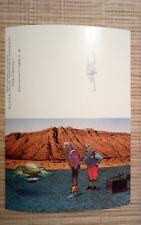 Carte MOEBIUS 110x165 mm une fois pliée  Série A1 - 5 Le Pays des choux 86 pliée