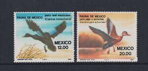 Mexico - 1984, Mexican Fauna, Birds, 6th series set - MNH - SG 1703/4