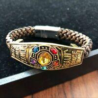 Avengers3 Infinity War Bracelet Thanos Figure Model Bracelet Jewelry COS Prop