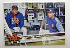 2017 TOPPS BASEBALL MEAT OF THE METS VERSATILE DUO HAS IT COVERED   C7