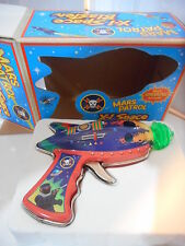 tin toy tole space gun  X1 space blaster