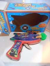 tin toy tole space gun  X1 space blaster