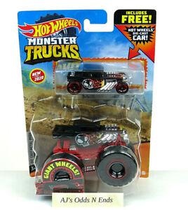 Hot Wheels Monster Trucks 1:64 Bone Shaker Duos Pack 2020 International Easter
