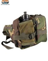 DPM Waist Bag with Bottle Tactical Airsoft Walking Hiking Military Camping Army