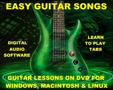 Easy Guitar Songs TAB Lesson CD 392 TABS 339 Backing Tracks + MEGA BONUS