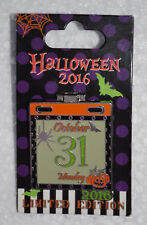 Disney Parks October 31 2016 Happy Halloween Stitch Hinged Pin LE 3000 NEW