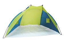 YELLOWSTONE BEACH Shelter con chiusura Blu & Verde