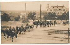 Foto AK - Soldaten mit Stahlhelm zu Pferd wohl Reichswehr - 1920er