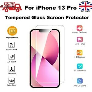 Full Edge to Edge Screen Protection REAL Tempered Glass for iPhone 13 PRO 6.1 in