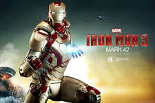 Sideshow Marvel Iron Man Mark 42 Maquette - Avengers, Stark, Captain America