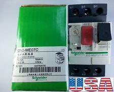 GV2-ME07C Schneider Telemecanique Motor Circuit Breaker 1.6-2.5 Amp.