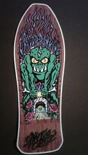 "Santa Cruz Gregor Rankine replica Skateboard Deck Shaped Sticker over7"""