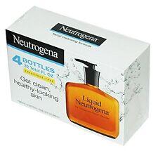 Jabon Liquido Neutrogena Para El Acne Limpieza Facial - Set de 4 -32 Onzas Total
