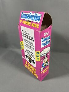 1986 Topps Garbage Pail Kids Giant Series 1 Sticker Box with 36 Sealed Packs