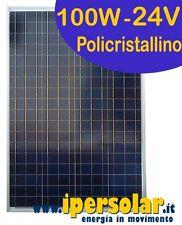 Pannello solare fotovoltaico 100 Watt/24V