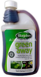Blagdon Green Away Pond Algae Cloudy Water Treatment Interpet Harmless To Fish
