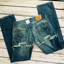 RARE Urban renewal Levi's 501 butt ripped jeans LARGE NWT