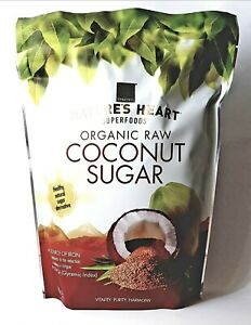 Organic Coconut Sugar 1kg Terrafertil Nature's Heart Superfoods - Low GI