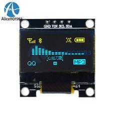 "0.96"" Yellow &Blue I2C IIC 128X64 OLED Serial LCD LED Display Module for Arduino"