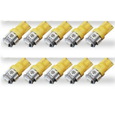 10X/lot T10 5050 5SMD LED Yellow Light Car Side Wedge Tail Light Lamp Bright New