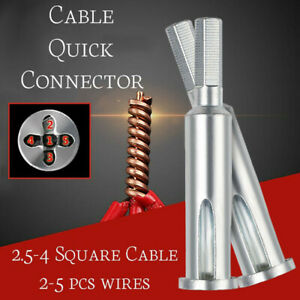 5-Holes Electrician Universal Automatic Twisting Wire Stripping And Doubling