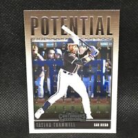 2020 Contenders Potential Taylor Trammell RC San Diego Padres Rookie #5