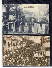 Tarjetas Postales Escenas Semana Santa Sevilla (DQ-246)