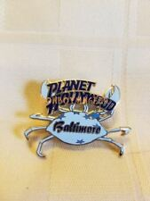 Planet Hollywood Baltimore MD Crab Souvenir Collector's Pin