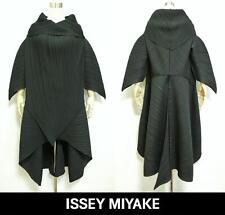 ISSEY MIYAKE Unique Haori Jacket Coat Deformed sleeve Design Matte-Black Size M
