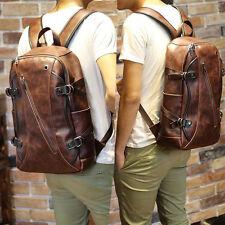 Unbranded Men's Leather Backpack | eBay