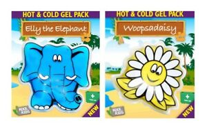 Reusable Kids Hot Cold Gel Pack Pain Relief I Woopsadaisy I Elly The Elephant