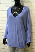 DENNY ROSE Mantella Maglione Cardigan Donna Taglia Unica Pullover Sweater Maglia