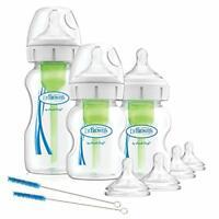 Dr Brown's Options+ Anti-Colic Baby Bottles, Starter Kit