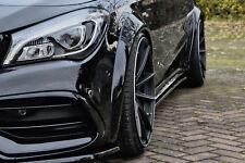 Radläufe Kunststoff Radlauf Verbreiterungen für Mercedes CLA C117 + 45AMG